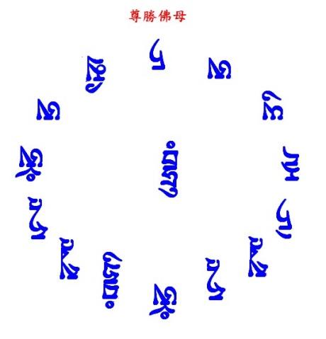 尊胜佛母(图) - 堪布扎西多吉 -