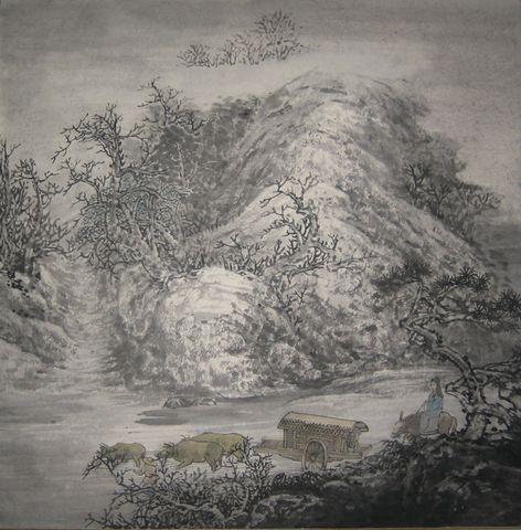 王豫旻国画多幅欣赏 - 悟之诗语 - 悟之诗语(思语)的博客