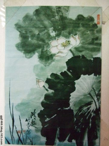 母亲的画\父亲的字 - gg2466 - gg2466的博客
