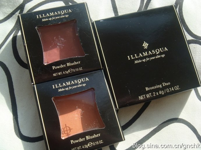 Illamasqua 粉狀腮紅及雙色修容粉 - 小住住 - 住住美妝瘦身分享 (網易版)