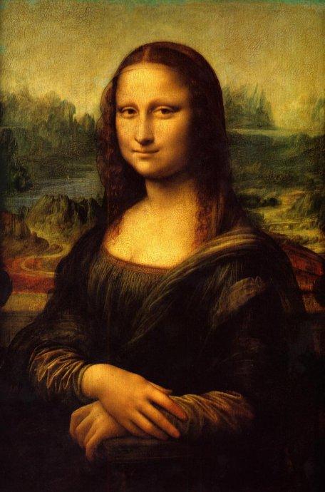 """高科技破解""""蒙娜丽莎的微笑""""(转载) - 应歧的油画风景 - 应歧的油画风景"""