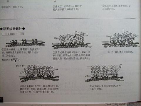 【引用】钩+织 圆摆阔领红衣 - 蓝贝壳 - 蓝贝壳