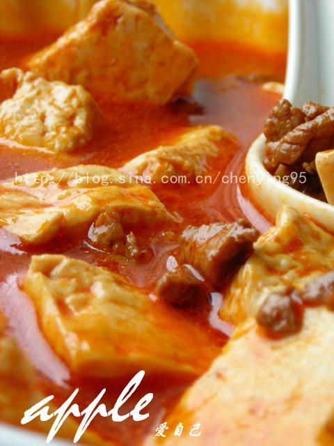 女人给男人减肥支支招:韩式牛肉豆腐汤 - 可可西里 - 可可西里