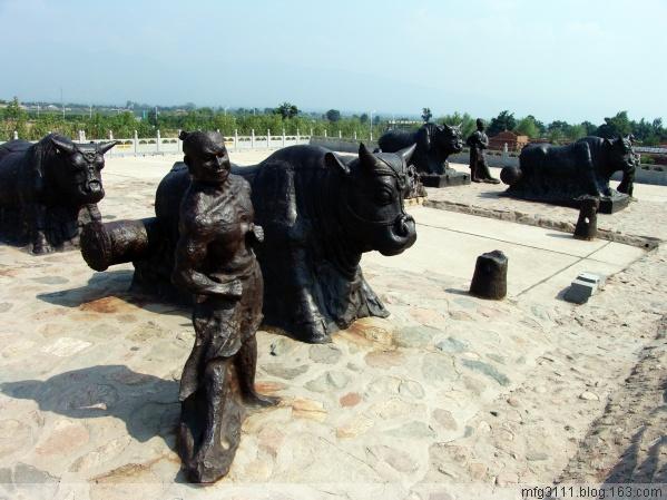 黄河大铁牛 天下第一牛 - 屲林坡 - 屲林坡的博客