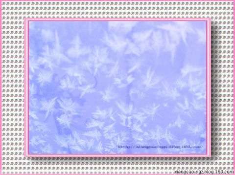 [原创]  冰窗花 -         香草 - 香草的艺术小屋