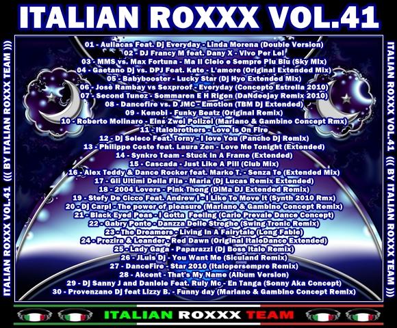 VA-Italian_Roxxx_Vol.41-CD-2010-IRT - 意大利铁匠 - 分享劲爽节奏--XINBO21