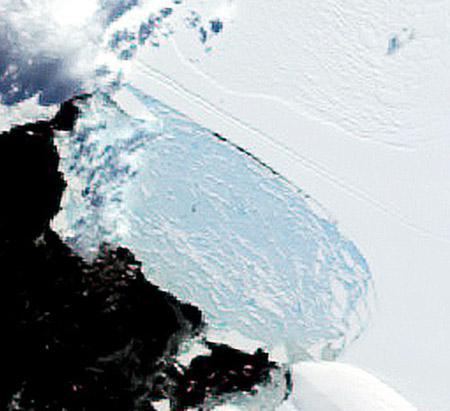 南极冰架又裂了.... - 哎哟哇噻 - 欢迎来到·哎哟哇噻·的世界