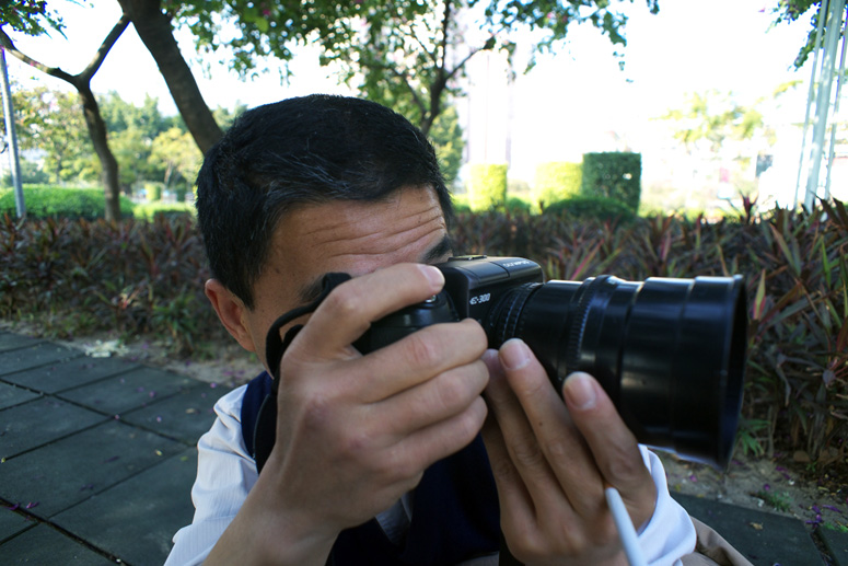 【原创】CANON 135MM F2 PL-mount电影镜改 M42试镜 - 虎说八道 - 虎穴