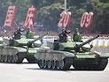 99式坦克方队通过天安门接受检阅