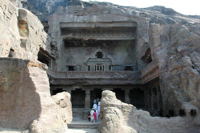 印度最完美的石窟 - Y哥。尘缘 - 心的漂泊-Y哥37国行