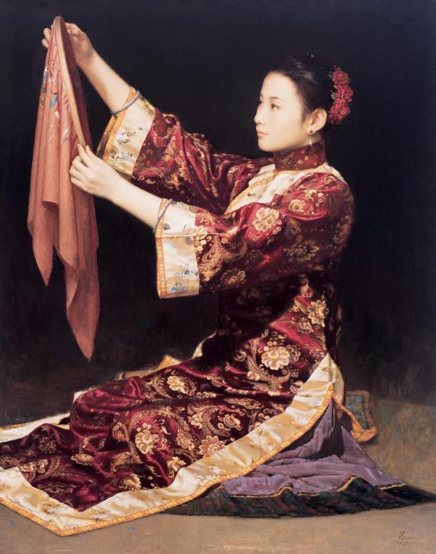 中国当代油画100幅 - 山野幽兰 - 山野幽兰的博客