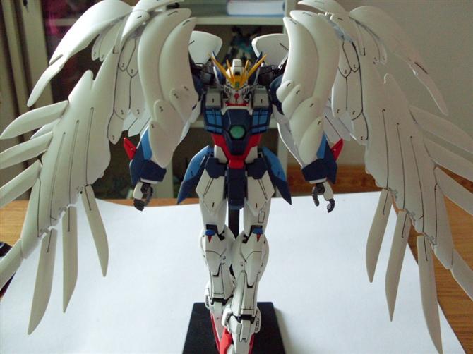 Zero Gundam Wing Custom - 子誉 - 子誉的模型周记
