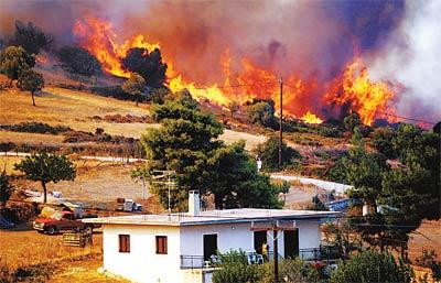 希腊:一场没有尽头的火灾噩梦 - 潇彧 - 潇彧咖啡-幸福咖啡