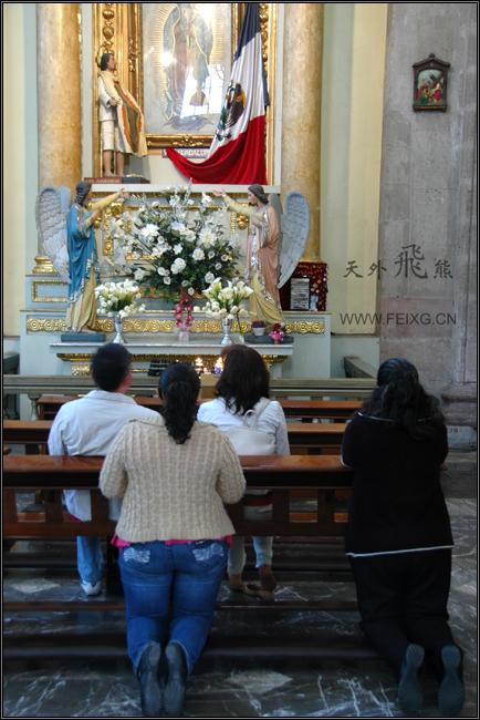 081128 墨西哥掠影(14)墨西哥大教堂 - 天外飞熊 - 天外飞熊