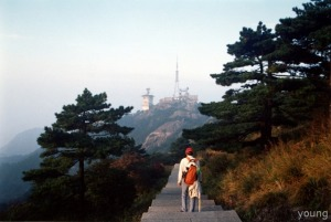 2004年 黄山 光明顶