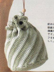 奥运第一天--水蓝菠萝包包 - 粗妖 - 爱编织的妖妖