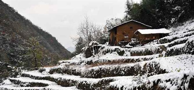乡村雪景 - fyc1123 - 南关小巷