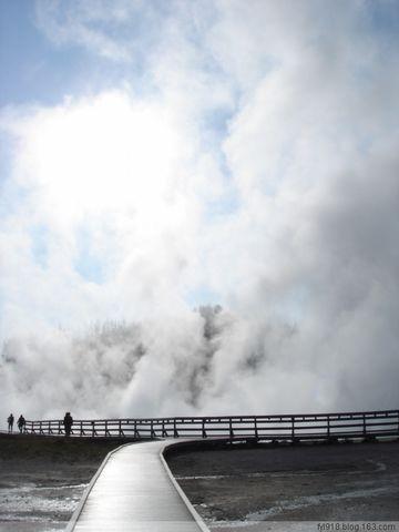 [原创] 美国黄石公园风光欣赏(1):地热现象 - 阳光月光 - 阳光月光