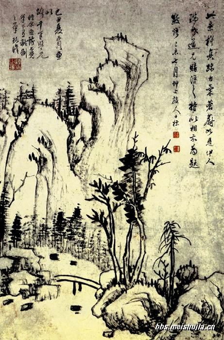 王维《山水诀》及《山水论》 - sunyesen - sunyesen的博客