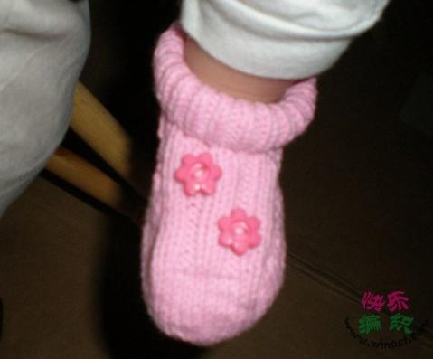 【转载】宝宝鞋编织过程-转 - 爱上编织 - 爱上编织的博客