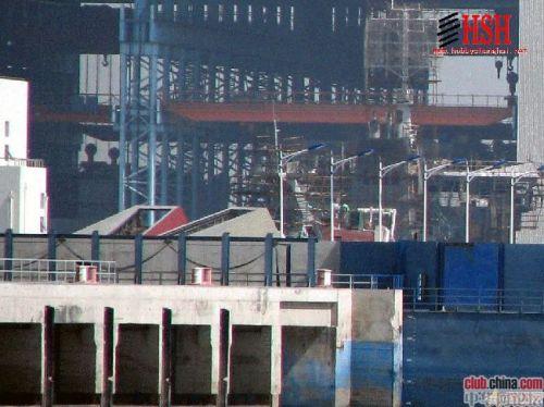 爆了!中国江南长兴岛建造厂航母最新进展猛图