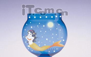 Photoshop合成图片特效:玻璃瓶里的美人鱼 - 玫瑰夫人 -