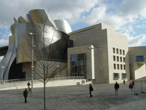 西班牙古根海姆博物馆掠影 - 天高.我翔 - 艺术世界