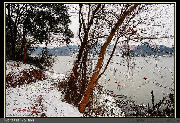 [原]风光摄影:岳阳风光《邕湖银装2》 - 巴陵散人 - 巴陵散人影室