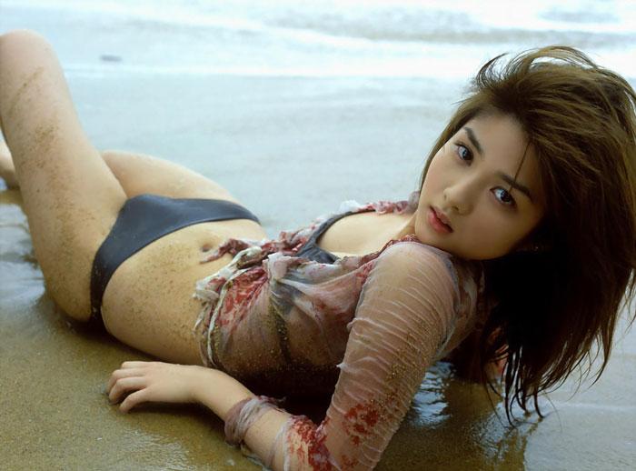沙滩美女 - 春晖 - 春晖的博客