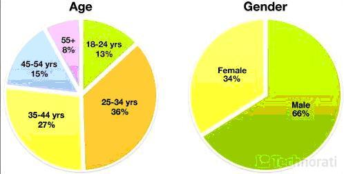 浅谈中外博客性别与年龄差异 - chinesecnnic -    cnnic互联网发展研究