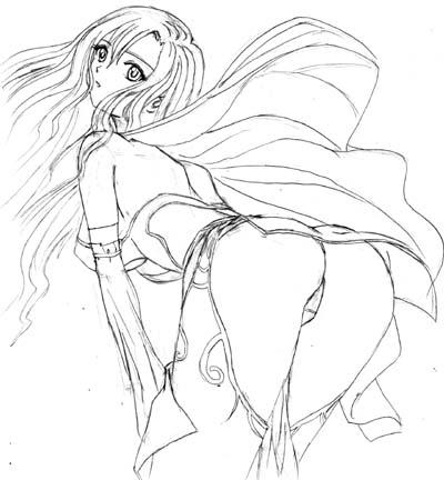 临摹 - 大肥肉虫子 - 我喜欢画画漫画...