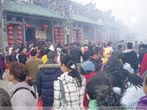 新年在芦苞祖庙祁福 - 高歌anh cao - caocamquy.blog.163.c