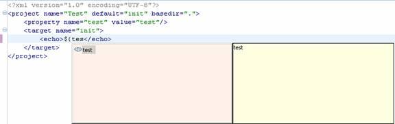 图1:编辑器右边的加/减号可以代码折叠