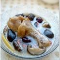 养血补气、健脾强身的滋补汤品:香菇鸡腿汤