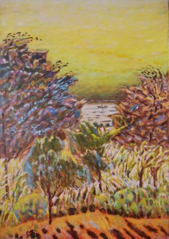 2003年作品选(老魏的收藏) - 应歧的油画风景 - 应歧的油画风景