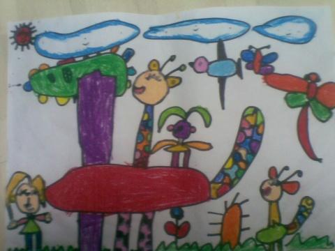 我们的长颈鹿(大班) - rqsy2008 - 融侨元洪锦江幼儿园的博客