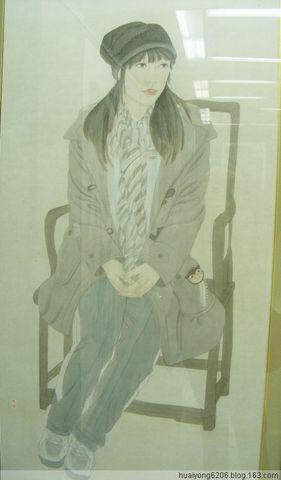 内蒙古自治区第四届国画展(人物部分)作品欣赏 - 西山行旅 - 西山行旅