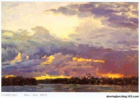 徐永祥先生的域外风景油画 - 范达明 - 范达明的博客