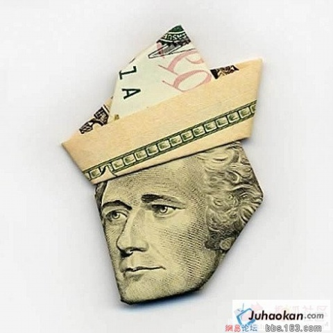 纸币折成的各国伟人 - 比爱更爱 - 比爱更爱的博客