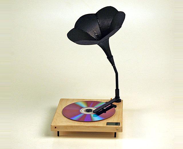 仿古cd播放机 麦子 麦田