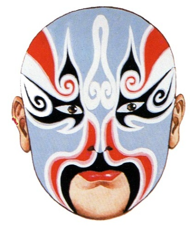 中国戏剧脸谱文化及图片欣赏 - 绿海波涛 - 绿海波涛闲情吧