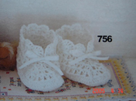 引用 [多图]钩织宝宝鞋子---有图解 - 冰凌 - 收纳盒