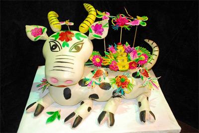 中国首届花馍艺术节在咸阳举办  - 剪纸刘罡 - 剪纸刘罡的博客