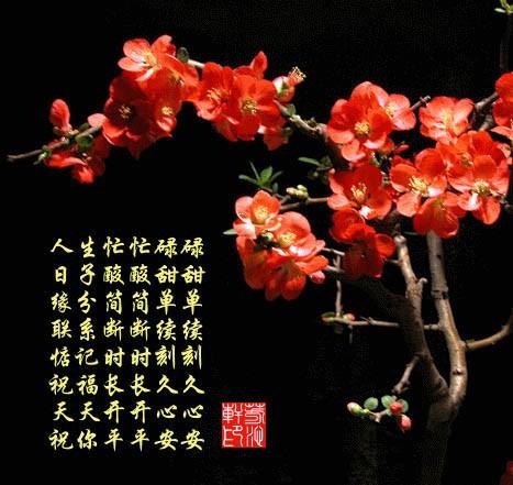 《新年祝福图片》 - 天高云淡 -        天高云淡