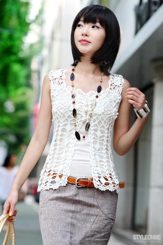 玫瑰之恋(改进版步骤)一款精美的夏日随手包 - 停留 - 停留编织博客