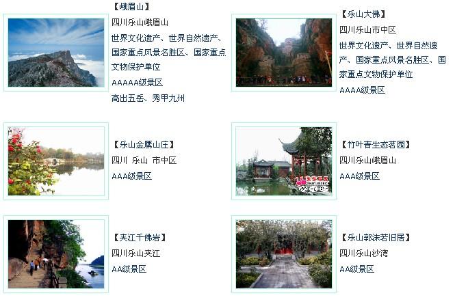 四川旅游景点大盘点 - 五味子 - 我家的博客