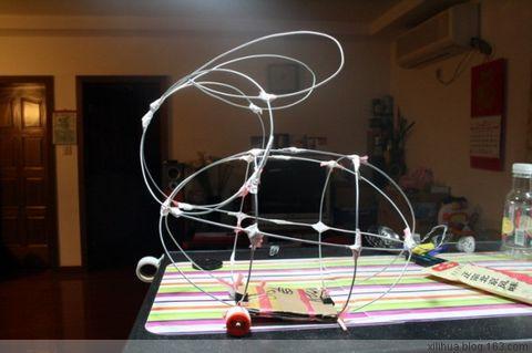 元宵节给宝宝手工制作兔子灯 [ 进行中..... ] - 小桃乐丝丝 - 小桃乐丝丝S 快乐家园 BLOG