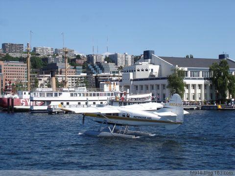 到西雅图观光(21):水上飞机 - 阳光月光 - 阳光月光