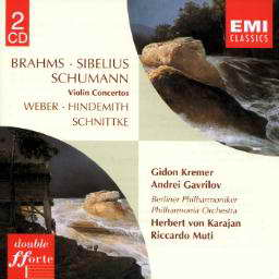 克雷默:勃拉姆斯和西贝柳斯小提琴协奏曲 - kklaodai - kklaodai的博客