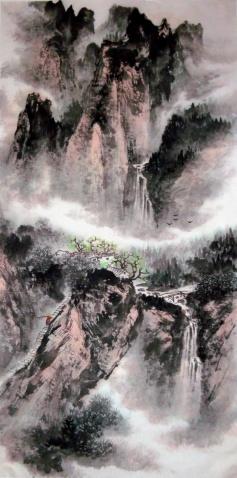 刘东方国画作品赏析 - 东方 - 刘东方